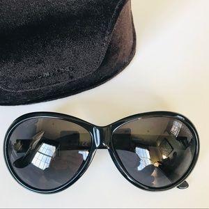 Tom Ford Black Geraldine Sunglasses